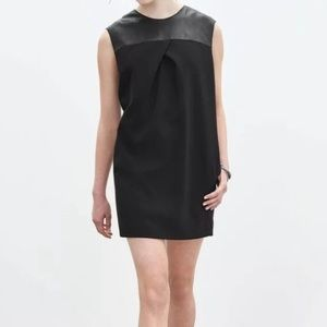 Banana Republic Monogram line black dress